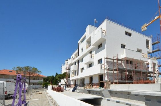 April 2014 - Building A almost finished! #workinprogress #soleis #realestate #forsale #italy #lignano