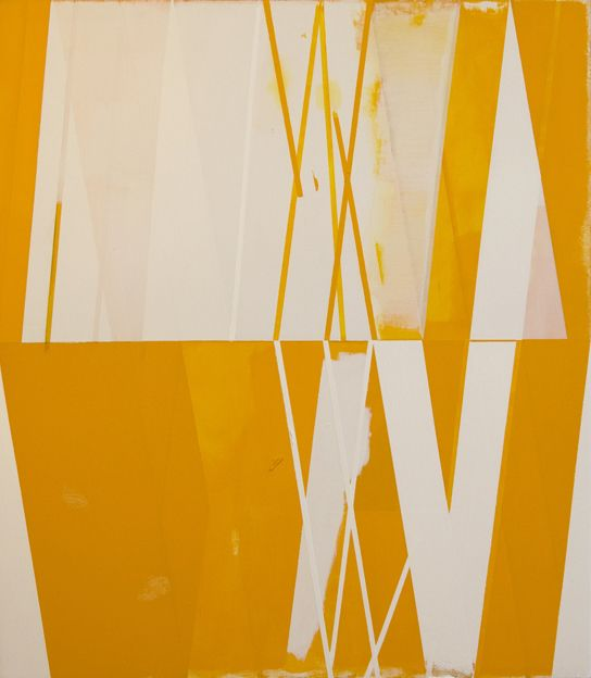 JEFF DEPNER       SEQUENCE/DELAY NO.4 acrylic on canvas / 34x30 / 2012