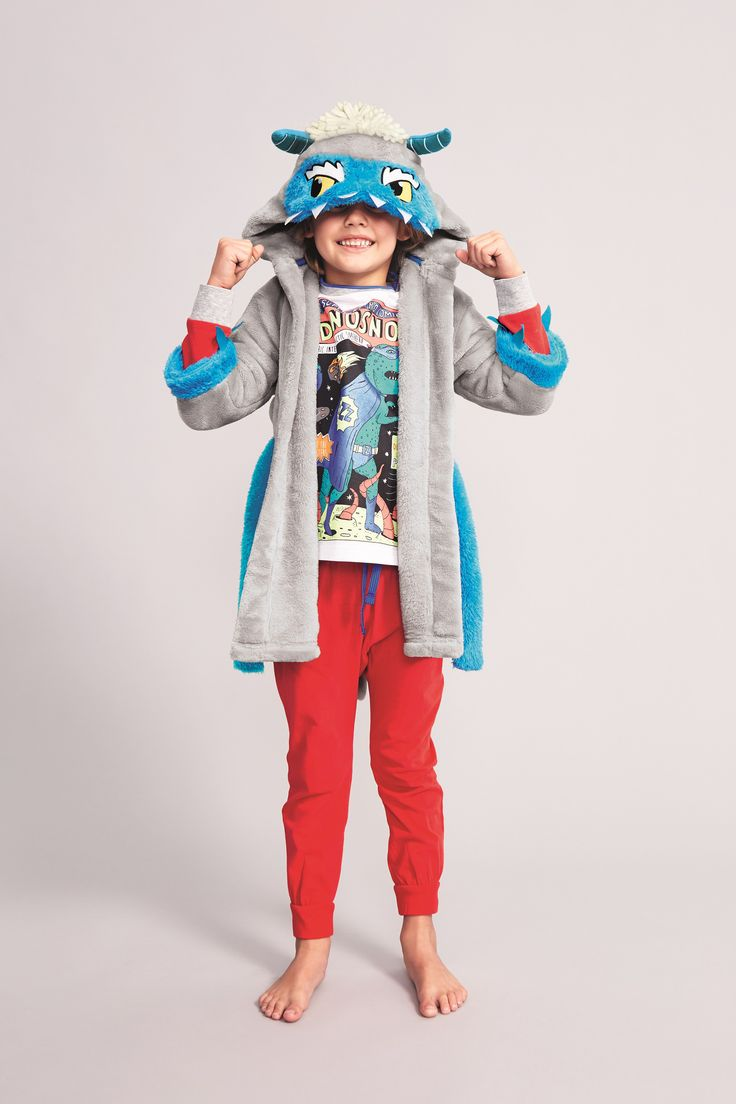 Have fun with their nightwear from playful dressing gowns ...