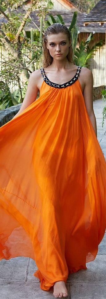 Farah Holt ~ Amanda Wakeley Summer 2014