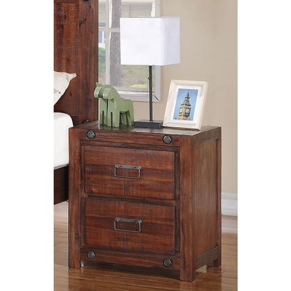 Donco Kids Brushed Industrial 2-drawer Night Stand - Overstock™ Shopping - Great Deals on Donco Kids Nightstands