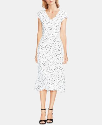 2a4cc84f1 Vince Camuto Printed Midi Dress - Black XL in 2019 | Products ...