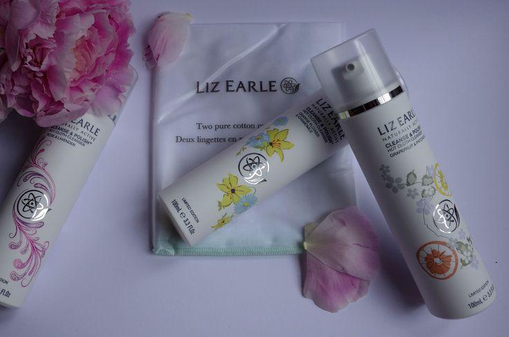 Liz Earle classic Cleanse&Polish cleanser. Beauty Trio limited edition fragrances Rose&Lavender, Grapefruit&Patchouli, and Orange Flower&Chamomile. Skincare