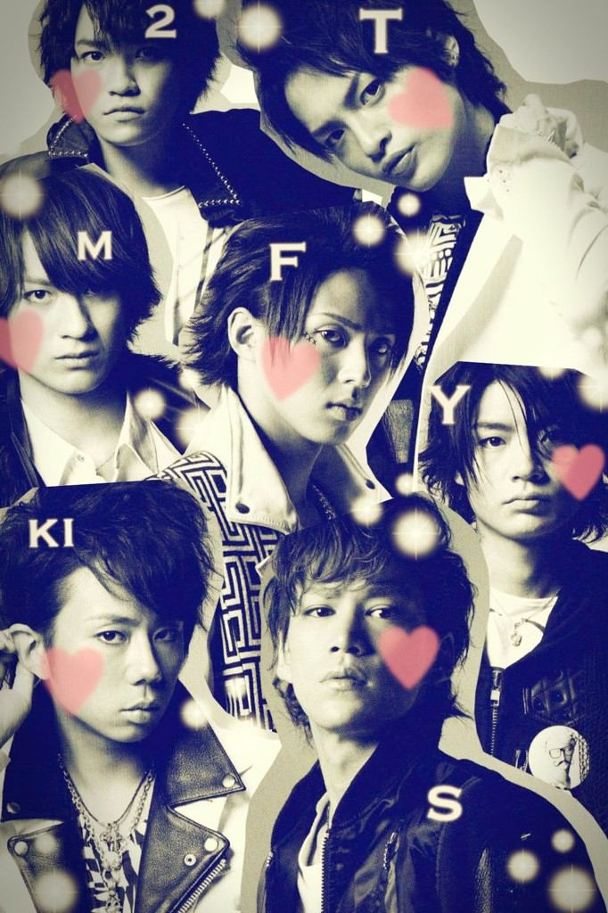 Kis-My-Ft2 photo collage