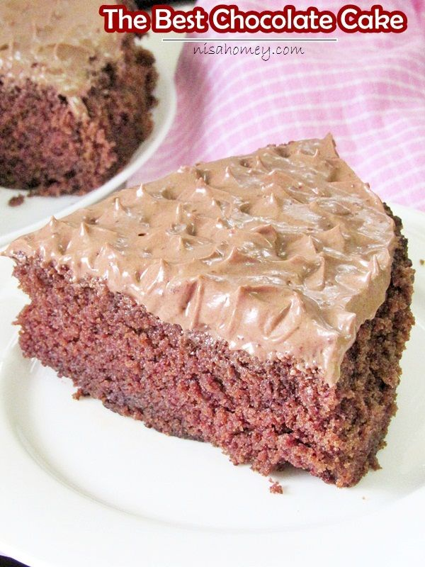 the best chocolate cake (180 degrees Celsius is = to 356 degrees F)