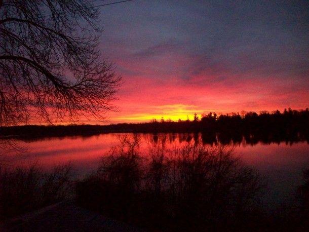 Dawn Kawartha Canada #sky #dawn #kawartha #canada