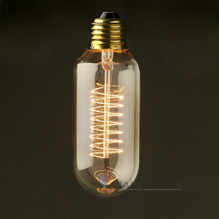 EDISON žiarovka – SPIRAL - je žiarovka z retro kolekcie EDISON v tvare špirály z minulého storočia. Žiarovka obsahuje slučky vlákien z volfrámu, ktoré sa ťahajú celým centrálnym pilierom zdroja žiarovky. Vďaka svojej teplo jantárovej žiare, vyžaruje rustikálne kúzlo ako žiadna iná žiarovka.