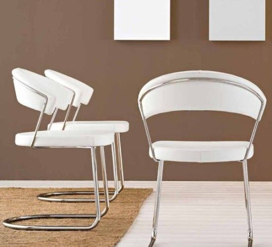 Calligaris New York Chair Cantilever Leg