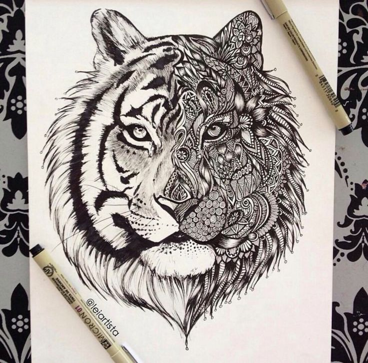Love love love. I want the whole tribal patten across the lion though.