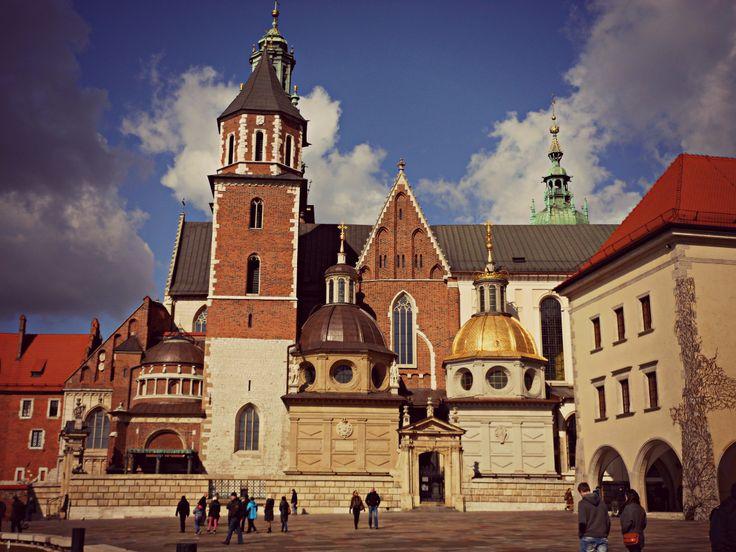 Vista della Cattedrale del Wawel.