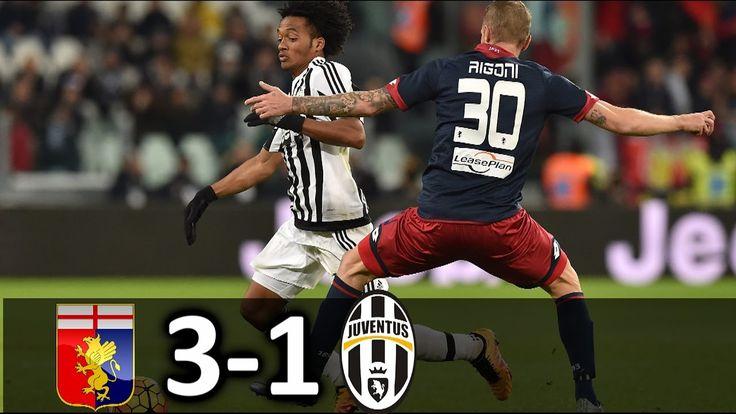 Genoa vs Juventus 3-1 HD All Goals & Highlights 27/11/2016