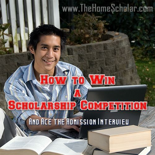 45 tips for earning big college scholarships. Be prepared for college interviews! #HomeScholar #collegescholarships