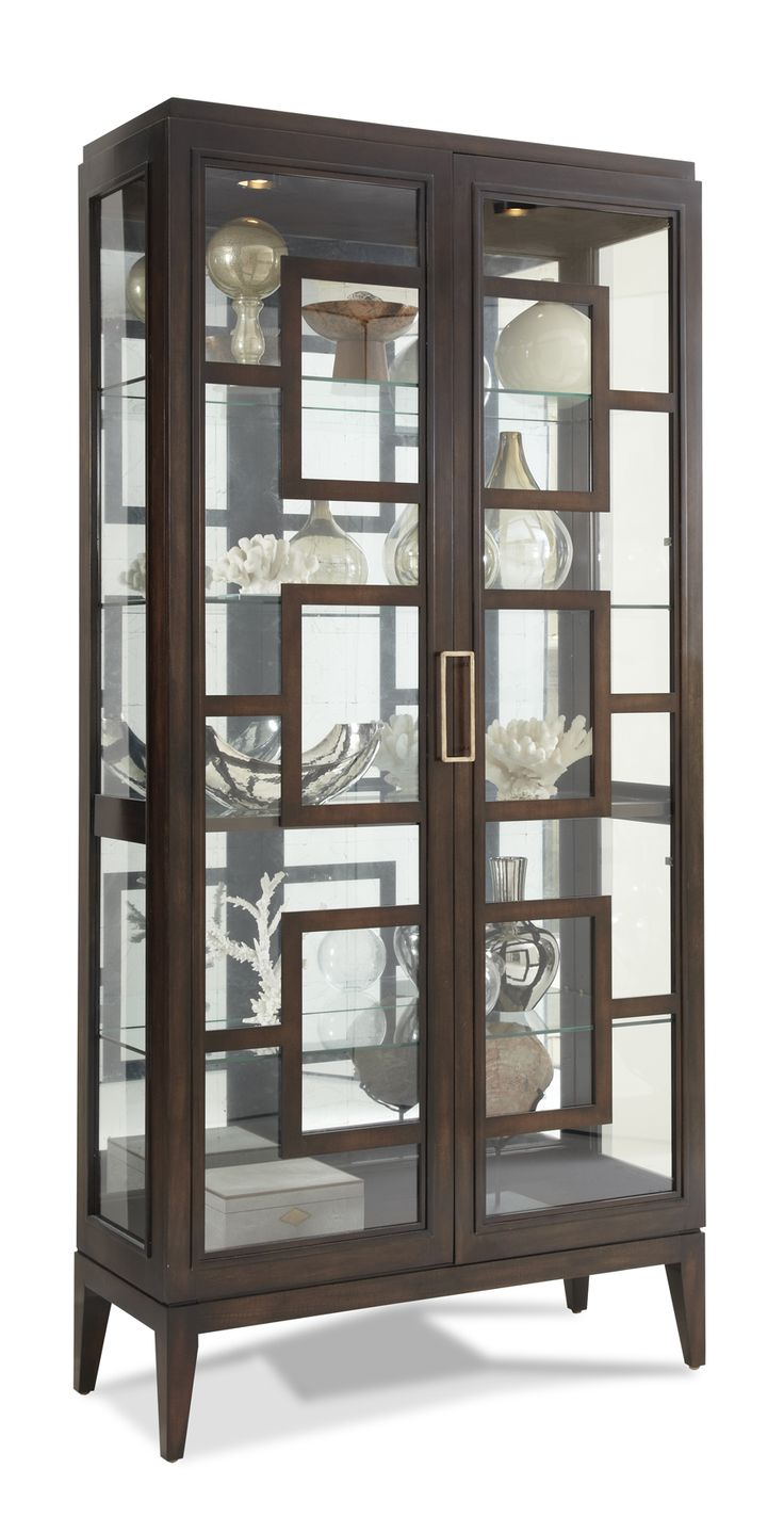 PIck your own finish Hickory White - 440-41 Rhodes Curio Cabinet
