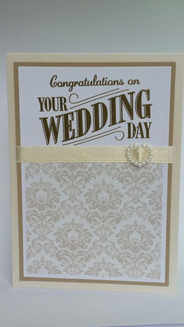 Elegant Congratulations on your Wedding day card
