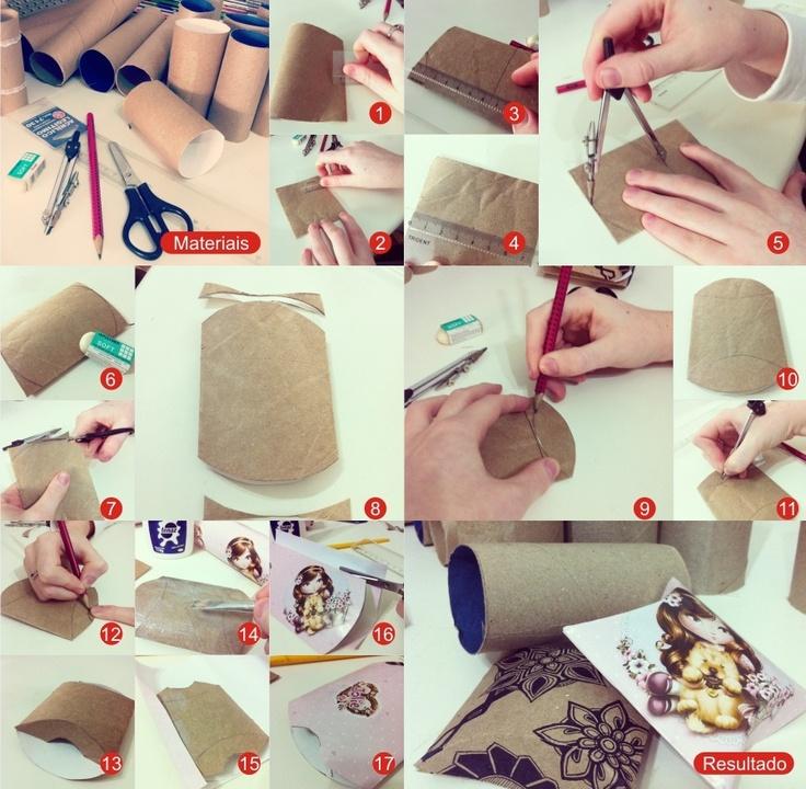 Top Oltre 25 idee originali per Tubi di cartone su Pinterest | Oggetti  WH58