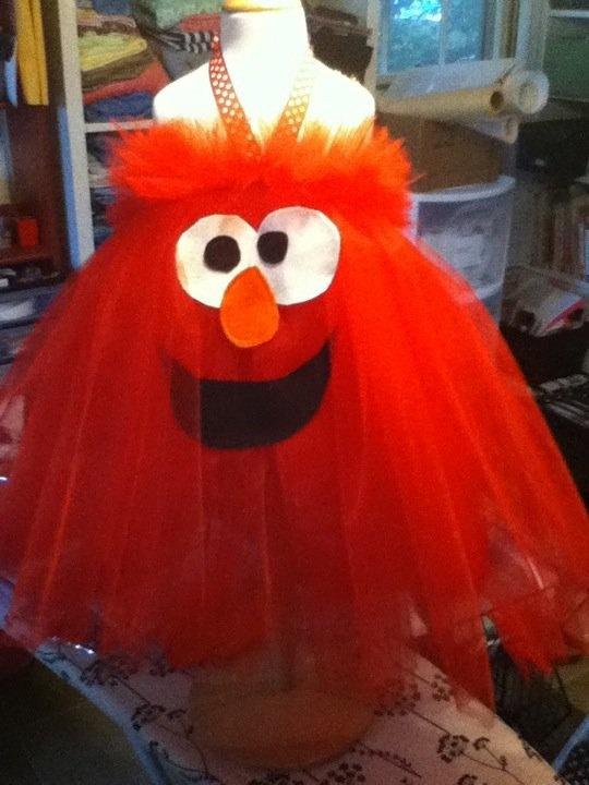 """Would this be a cop out for a halloween costume for Big Red? She LOVES Elmo, it just doesnt scream """"halloween"""" to me. @Kassi Jade"""