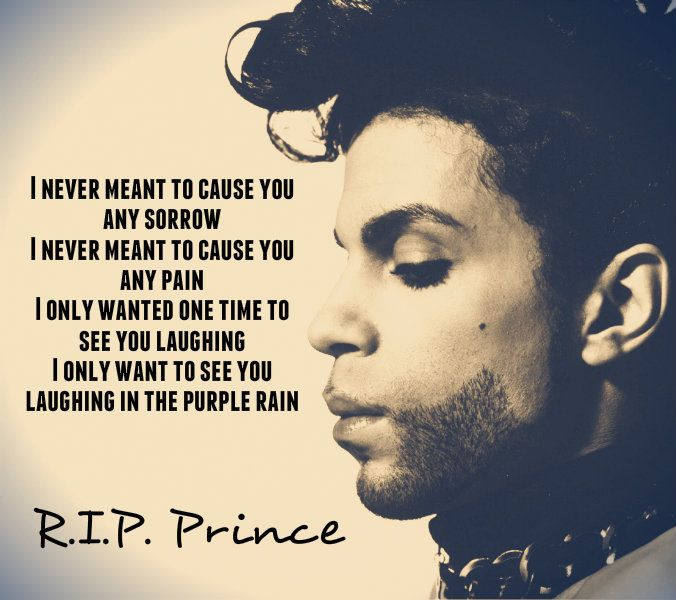 Love Your Life: RIP Prince