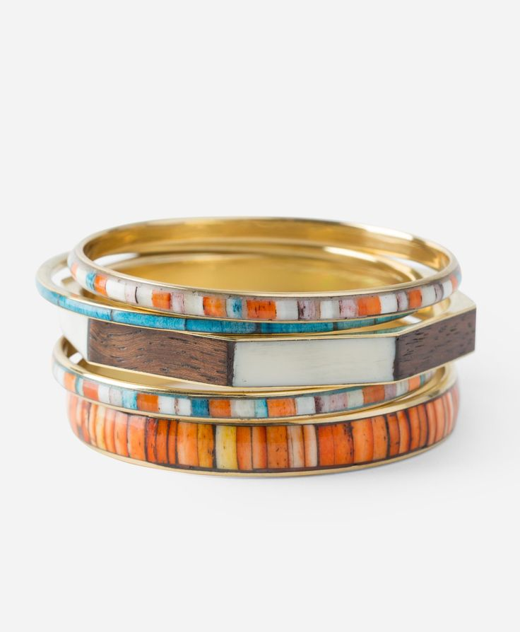 Marketplace Bangles - Noonday empowers women to become stylists, storytellers and social entrepreneurs and gives 10% of sales at Adoption Trunk Shows to help adoptive families bring their children home.