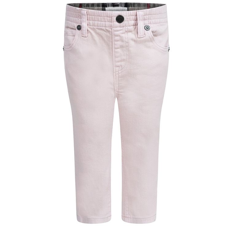 Burberry Baby Girls Pink Jeans