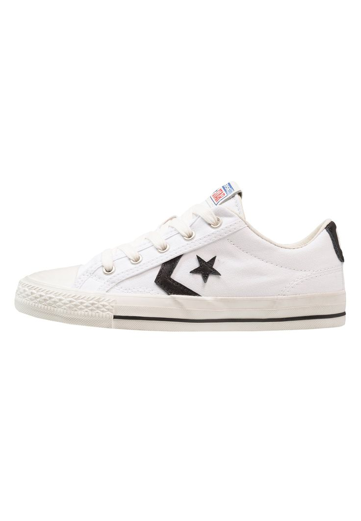 Converse STAR PLAYER HERITAGE - Zapatillas - white/black/egret - Zalando.es