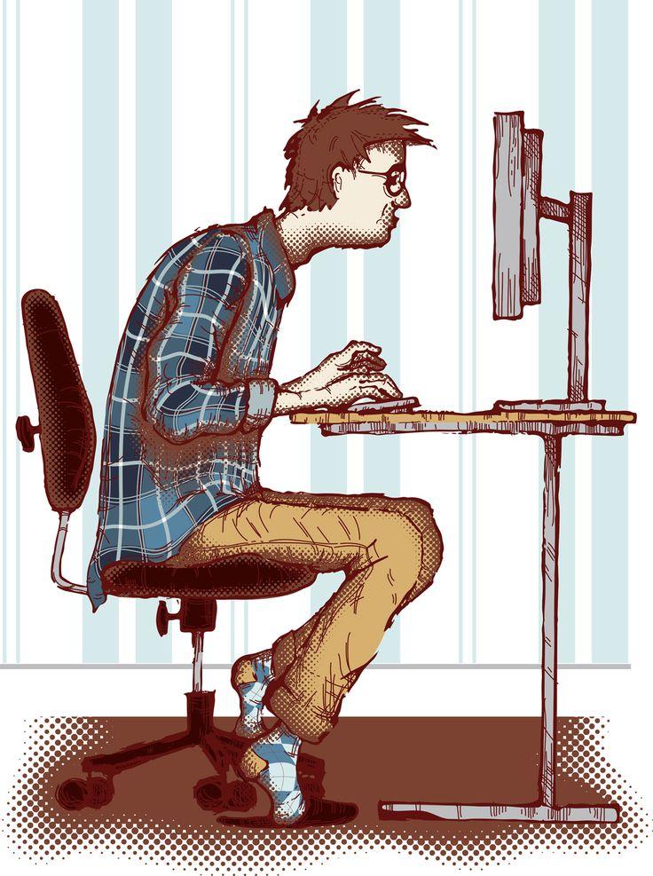 Lo sapevi che..By Durante Ufficio La vita di tutti i giorni spesso comporta molte ore seduti, soprattutto in ufficio. La sedentarietà, è risaputo, non è salutare per il tuo organismo, a cominciare dalla colonna vertebrale. Ognuno di noi ha esigenze di seduta specifiche. Oggi esistono diversi tipi di sedia ergonomica! Quanti di voi sanno che, stando seduti le spalle, le braccia ed il collo dovrebbero essere rilassati, i gomiti e le ginocchia disposti con un angolo di 90/110°? Resta informato!