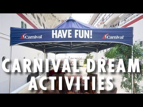 ▶ Carnival Dream Review and Tour: Activities ~ Carnival Cruise Lines ~ Cruise Ship Review and Tour – PopularCruising.com