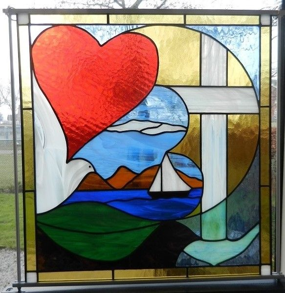 121 best images about bijbelquilts plaatjes on pinterest clip art stained glass and hands - Geloof glas ingerichte ...