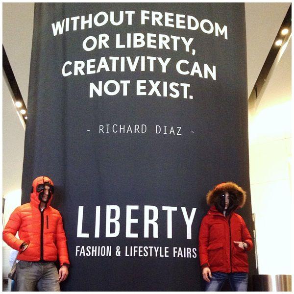 #airiders at #LibertyFairs at Las Vegas #downjacket #fallwinter15