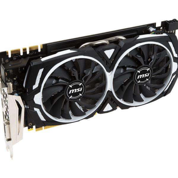 MSI GeForce GTX 1070 ARMOR 8G OC Graphics Card – Kartmy
