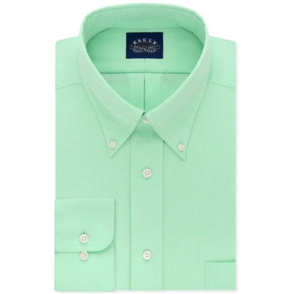 Eagle Men's Classic-Fit Stretch Collar Non-Iron Solid Dress Shirt ($70) ❤ liked on Polyvore featuring men's fashion, men's clothing, men's shirts, men's dress shirts, lemon grass, mens banded collar dress shirts, men's non iron dress shirts, no iron mens shirts, american eagle mens shirts and mens collared shirts