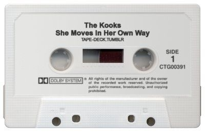 """""""She Moves In Her Own Way,"""" ...didn't know this song was old enough to be on cassette? Hmm. A Fav none the less:)"""