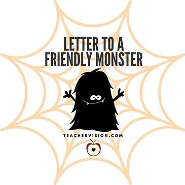 Practice letter writing with a Halloween twist! https://www.teachervision.com/letters-and-journals/activity/46293.html?utm_content=bufferc5a67&utm_medium=social&utm_source=pinterest.com&utm_campaign=buffer #elemchat #ELA #Halloween #printables