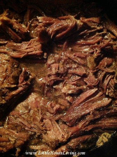 Simple and Delicious Shredded Beef Recipe for the Crockpot