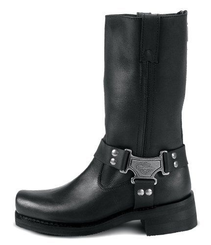 Milwaukee Motorcycle Clothing Company Classic Harness Leather Women's Motorcycle Boots (Black, Size 7.5C), http://www.amazon.com/dp/B000NKGBCI/ref=cm_sw_r_pi_awdm_iakevb0P16EP9