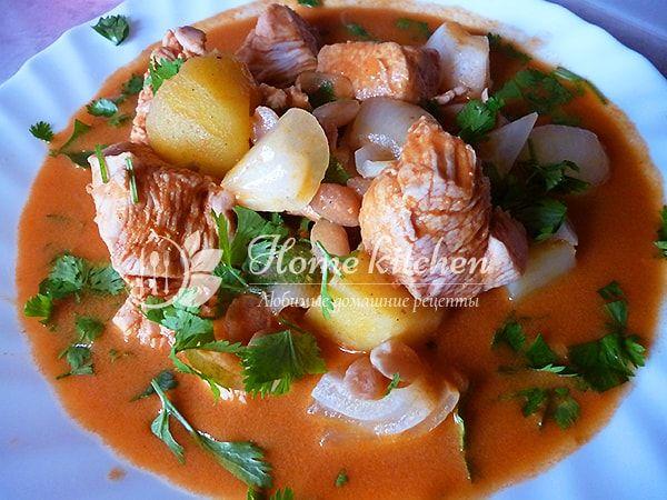 Курица в соусе карри с кокосовым молоком. Рецепт тайской кухни. Быстро, вкусно, ароматно.