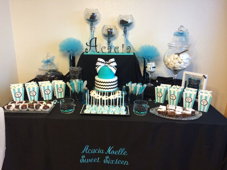 56 Best Images About Black White Amp Teal Party On