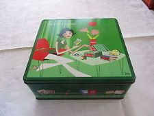 boite métal biscuits DELACRE ma boite à malices 2003 cookies tin box