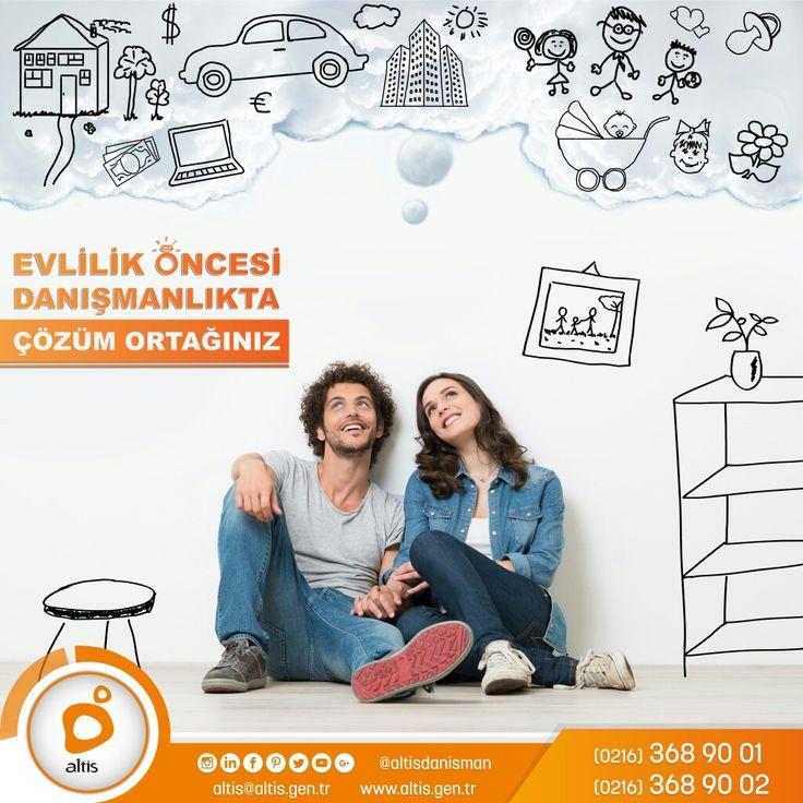 Evlilik öncesi kişilerin birbirlerini daha iyi tanımaları, kişisel ve ortak hedeflerini belirlemeleri, açık ve etkili iletişim biçimlerini öğrenmeleri, problem çözme becerilerini edinmeleri doyum sağlanan evliliğin ön koşulları için 'Çözüm Ortağınız'.. #altisdanisman #altisdanismanlik #evlilik #evlilikteklifi #eş #aile #birlikte #birliktelik #yol #teklif #gelecek #hedef #hayal #tanımak #çözüm #cozum #destek #yardim #psikoloji #psikolojik  #tedavi #uzman #nöroloji