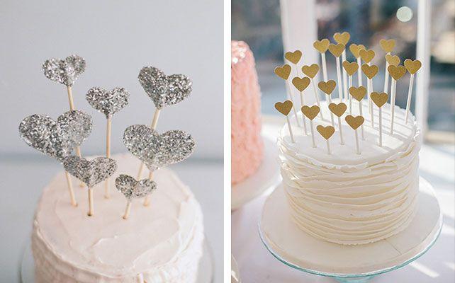 фигурки для свадебного торта в стиле гламур и винтаж