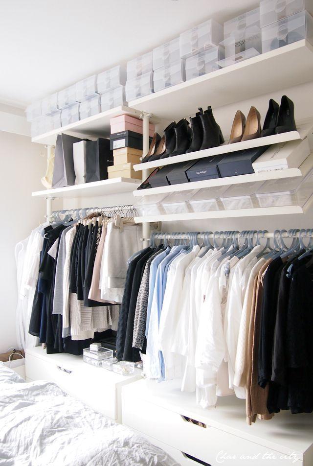 25 melhores ideias de closet aberto no pinterest casas for Cape cod closets