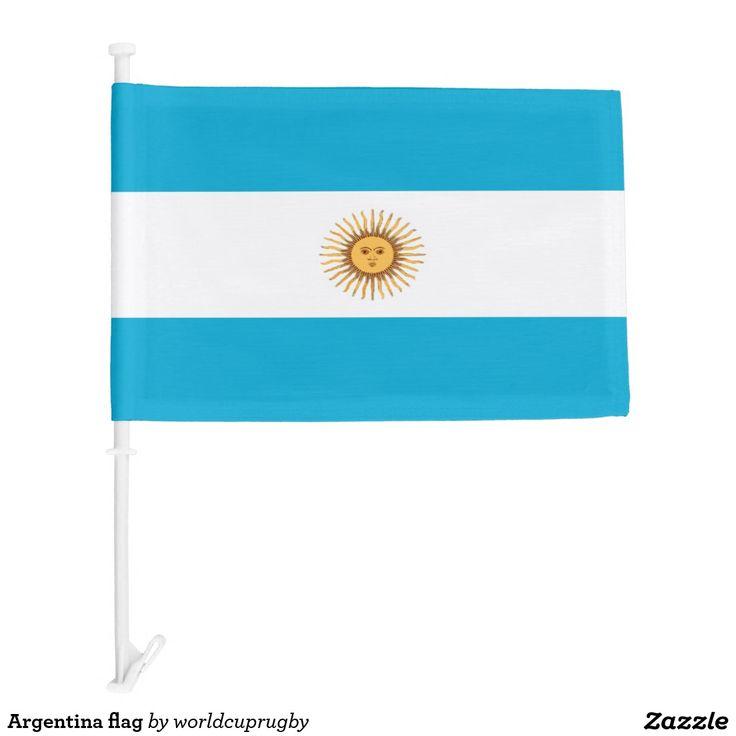 Argentina flag car flag