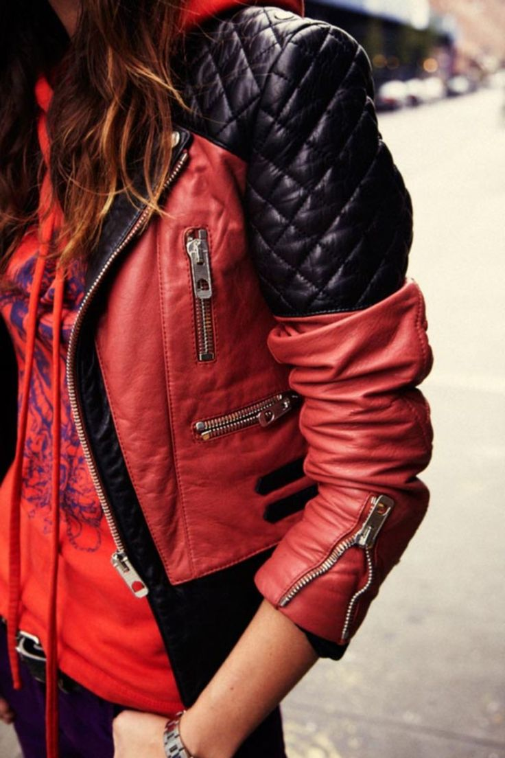 Leather jacket olx - 52 Cool Leather Jacket For Women