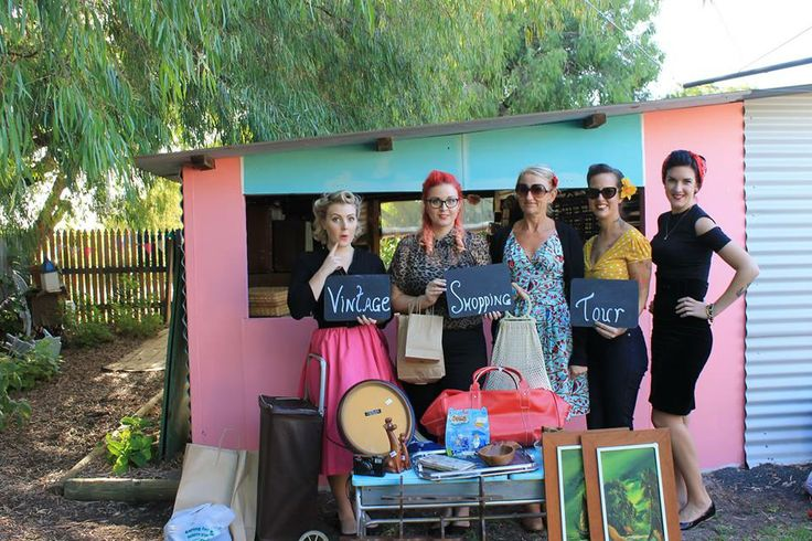 The Girls with their loot. Shopping with Duchess Di Dee dianed@westnet.com.au