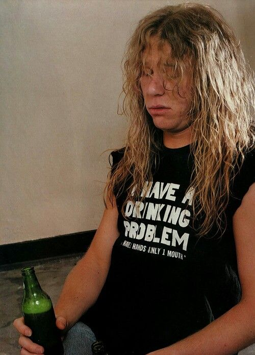 James Hetfield Drinking Problem