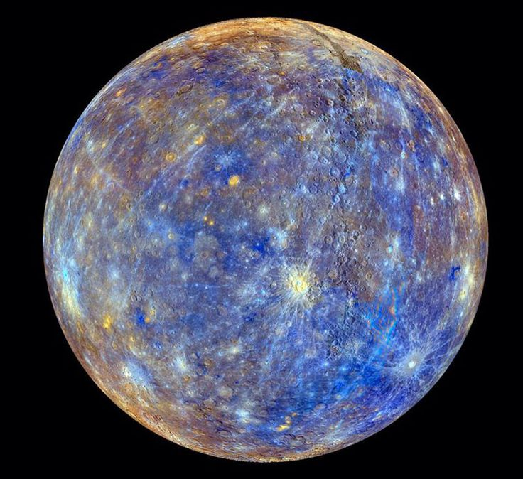 The clearest photo of Mercury ever taken