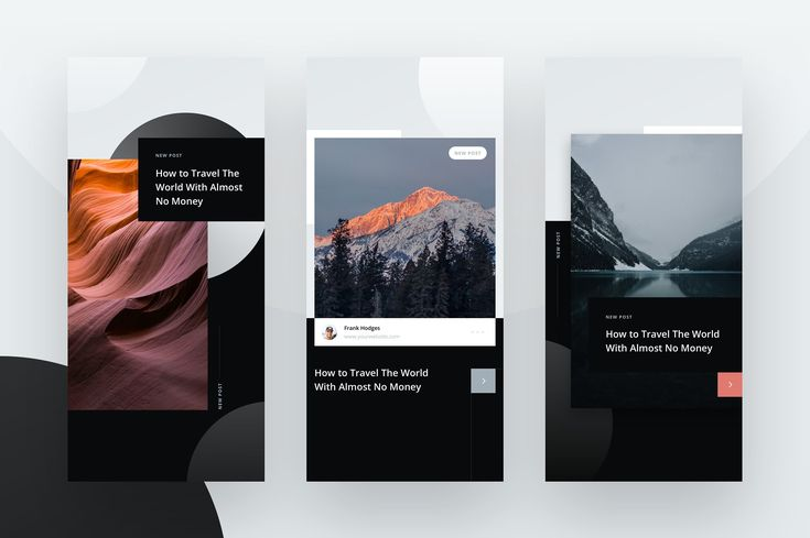 10 Instagram Stories Templates by Petr Knoll on @creativemarket