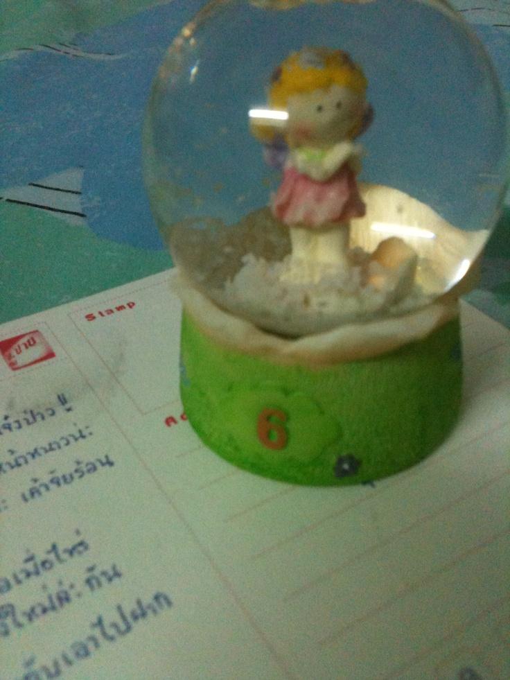 cutie first snowball ^^