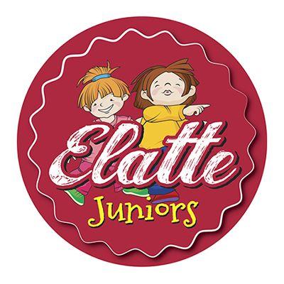 elatte juniors σχεδιασμός λογοτύπου παιχνιδότοπου
