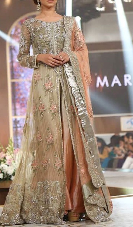 Best 25 Pakistani Gowns Ideas On Pinterest Lehnga Dress Dress Style Pakistani And Bridal