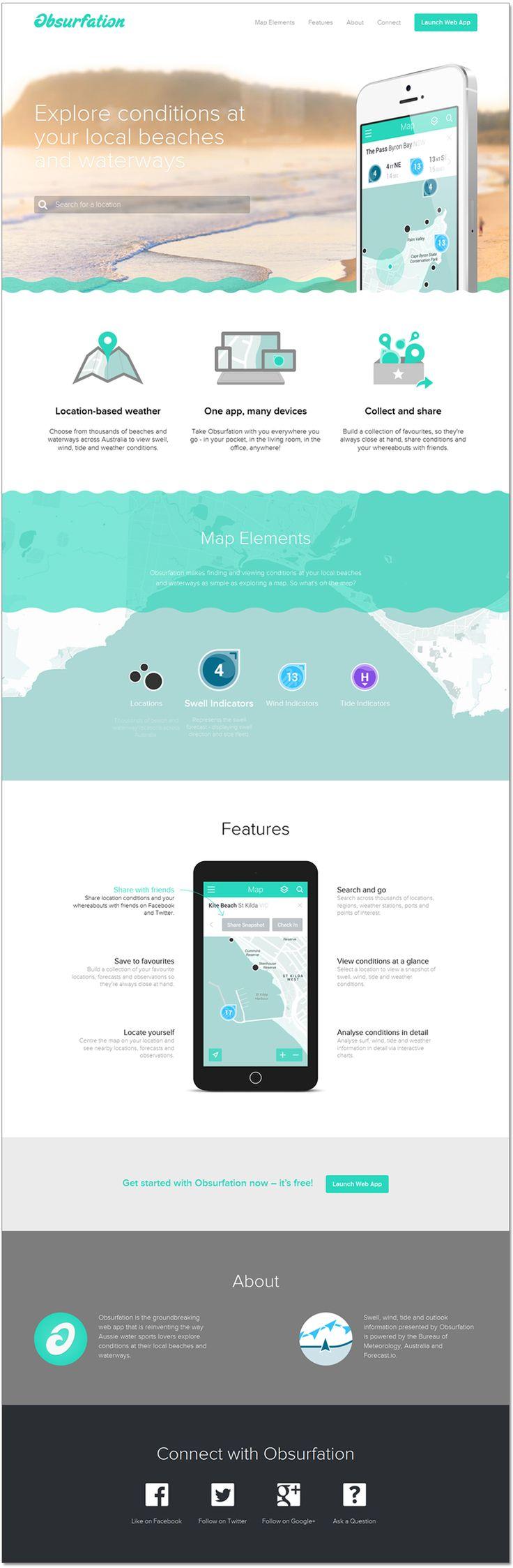 Obsurfation | #minimal #flat #webdesign